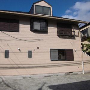 千葉県習志野市Dアパート塗装完了